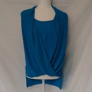 Vince Camuto Faux Wrap Sleeveless Top